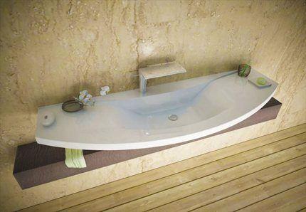 Большая раковина для большой ванной