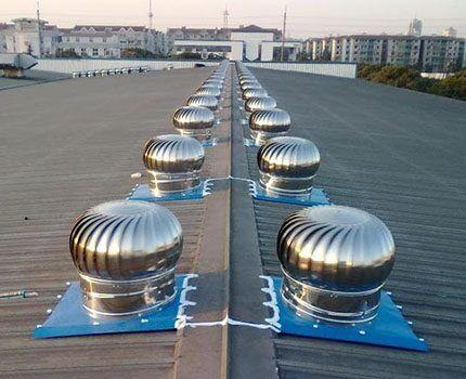 Дефлектор для вентиляции больших помещений