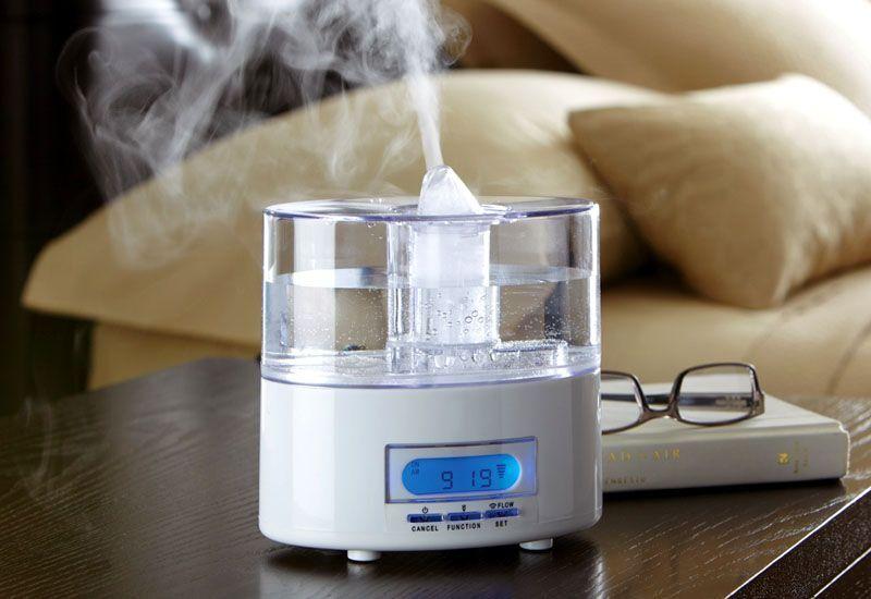 Как использовать увлажнитель воздуха