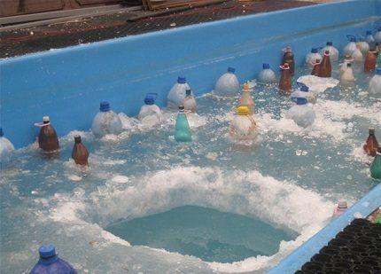 Поплавки из пластиковых бутылок
