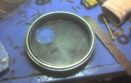 Заготовка дверцы печи Булерьян