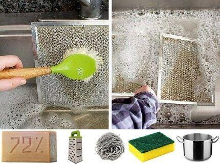 Чистка хозяйственным мылом