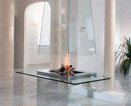 Дымоход из стекла