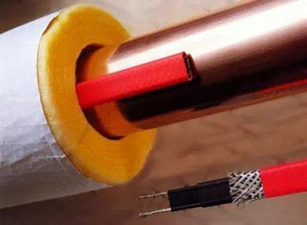 Теплоизоляция кабеля