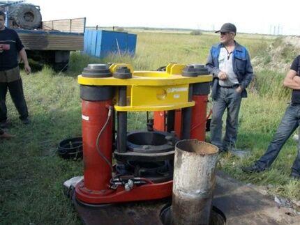 Оборудования для извлечения трубы из ствола скважины