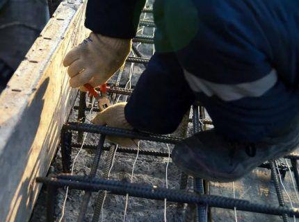 Использование кабеля для бетонного раствора