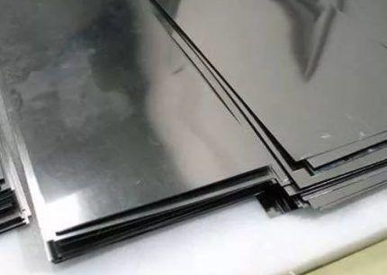 Листы оцинкованной стали
