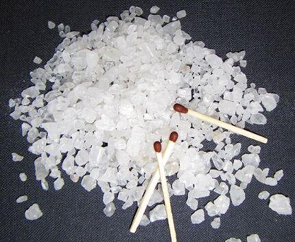 Соль для чистки дымохода