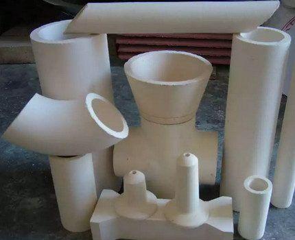 Керамические трубы различных видов