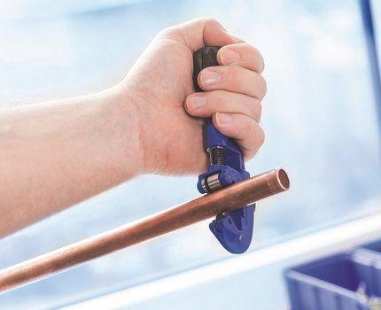 Ручной труборез для домашнего пользования