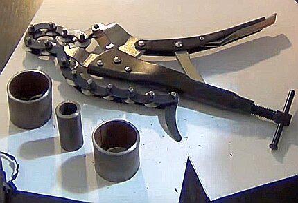 Цепной механический труборез