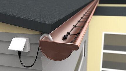 Закрепление кабеля в желобе