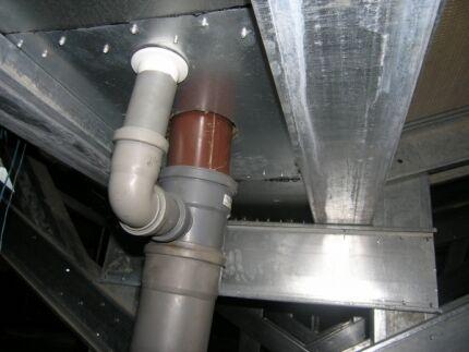Водосточные трубы из полипропилена и полиэтилена