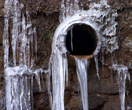 Канализация замерзла