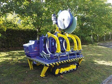 Автоматический аппарат для сварки полиэтиленовых труб