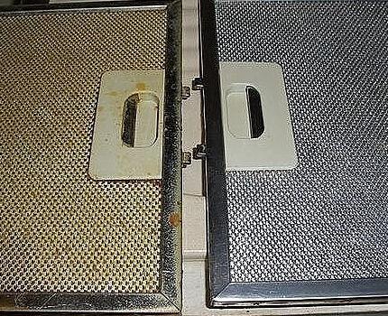 Жировой фильтр нуждается в частой очистке