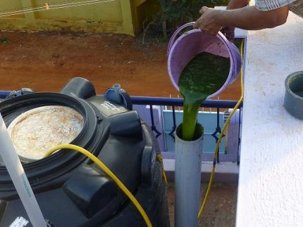 Сырье для биогенератора