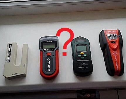 Выбор индикатора скрытой электропроводки