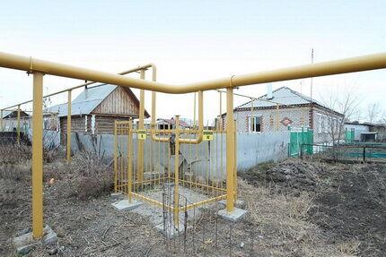 Надземный монтаж газовых труб