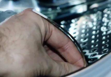 Косточка в барабане