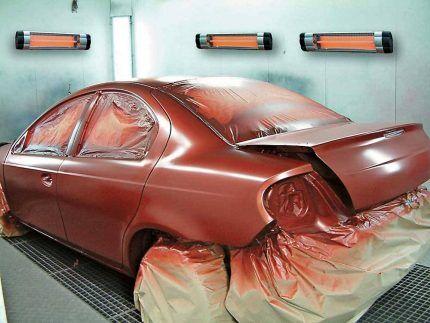 Хранение автомобиля в гараже