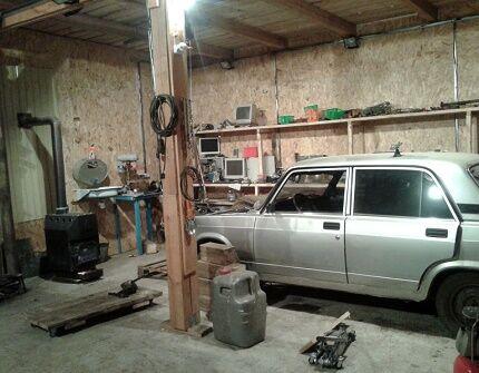 Утепление металлического гаража