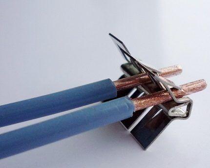 Клеммы импортные push-wire от WAGO
