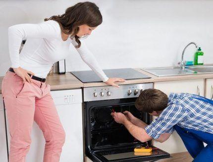 Ремонт духовки