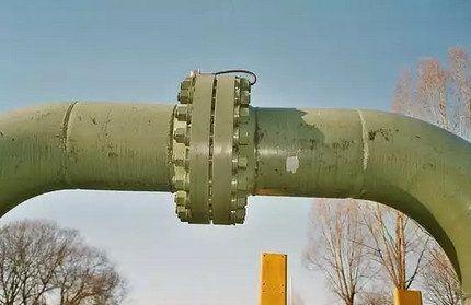 Фланцевое соединение стальных труб