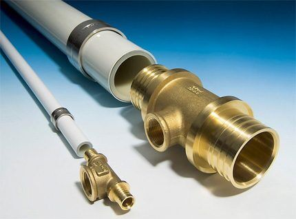 Техника опрессовки металлопластиковых труб