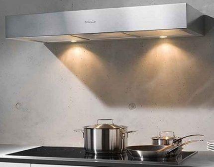 Вытяжка без воздуховода на кухне