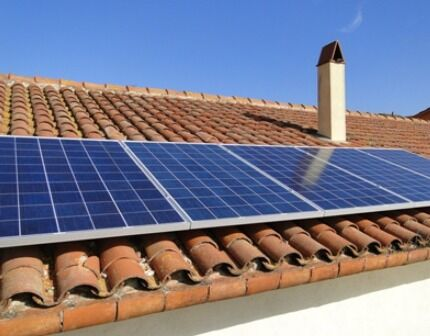 Установка солнечных батарей для дома выбор места монтажа этапы