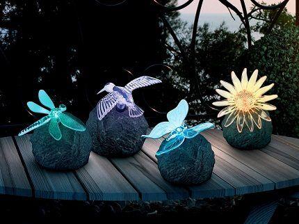 Подсветка веранды на солнечных батареях