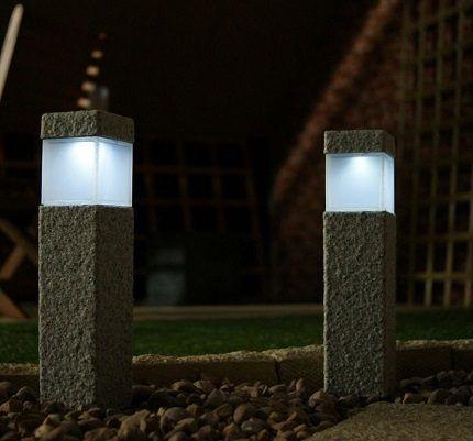 Садовые фонари для подсветки