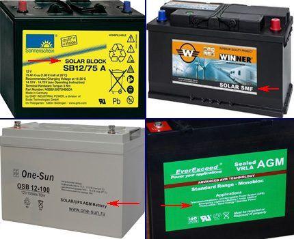 Аккумуляторы для альтернативной энергетики