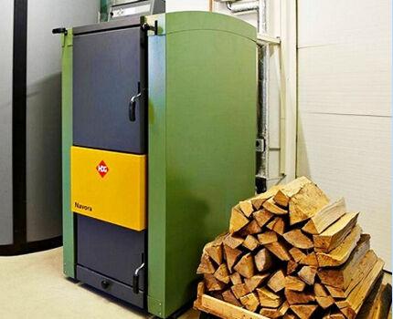Разновидности отопительных котлов на дровах
