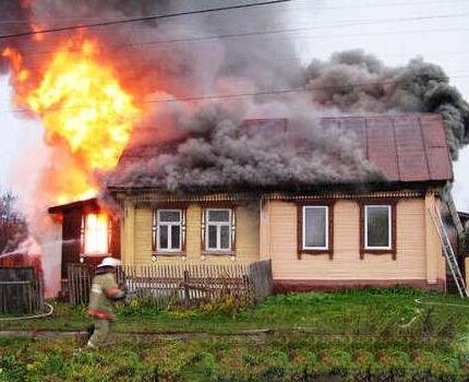 Пожары в деревянных домах