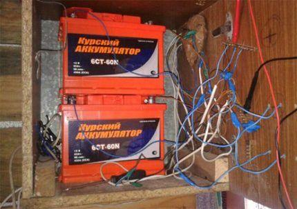 Аккумуляторы для ветрогенератора