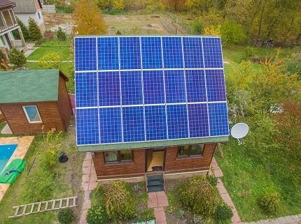 Солнечные батареи в электроснабжении дома
