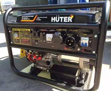 Бытовой топливный генератор