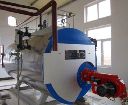 Биогазовая установка промышленного изготовления