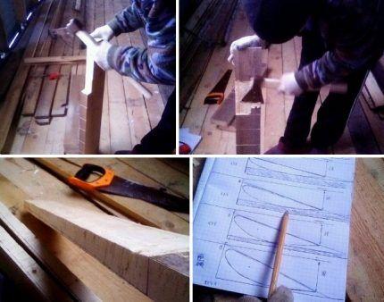 Изготовление деревянной лопасти