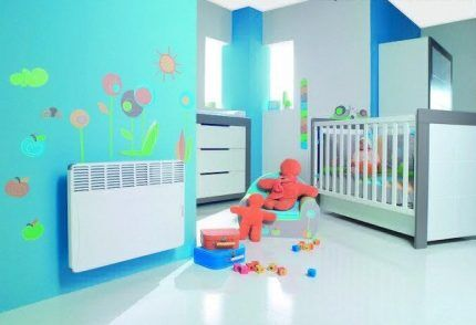 Отопительные конвекторы для детской