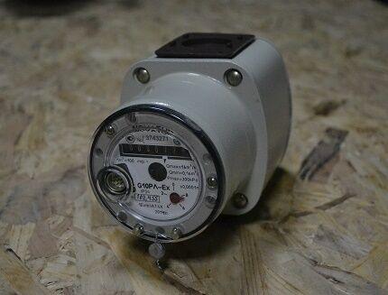 Роторный газосчетчик