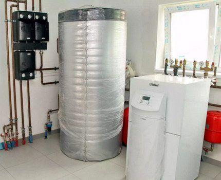 Тепловой насос в домашних условиях