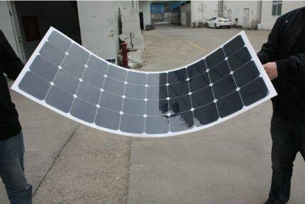 Гибкая солнечная панель
