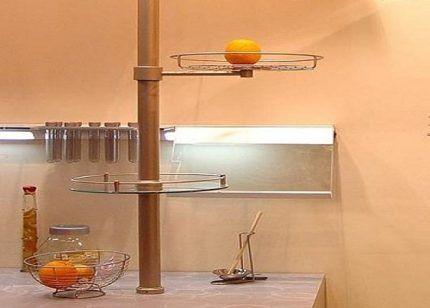 Вертикальная рейлинговая система