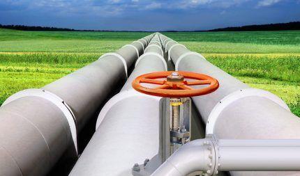 Характеристика магистрального газопровода