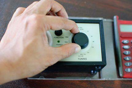 Металлоискатель, сделанный из приемника