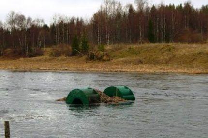 Мини-ГЭС на реке